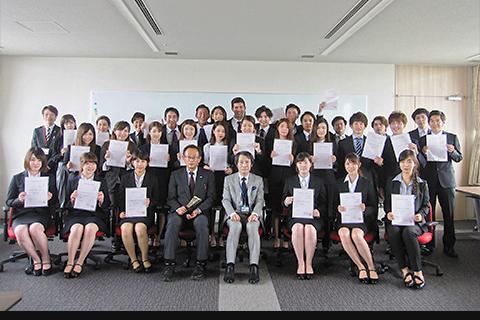 平成29年度後期海外派遣SAP留学生認定式_thumb