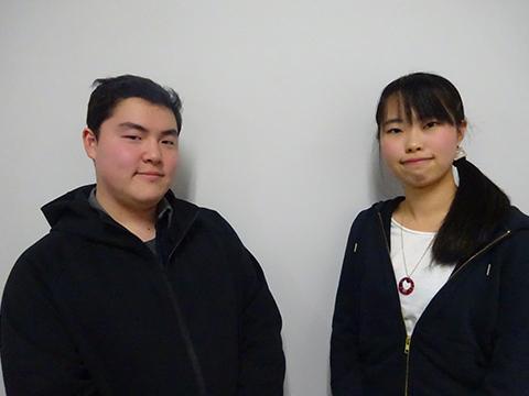 第9回武蔵野大ちゃんねる担当放送研究部小林恭介さん井上佳奈さん