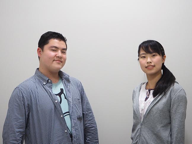 武蔵野大ちゃんねる担当 放送研究部 小林恭介さん 井上佳奈さん