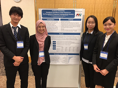 Academic Dishonesty Prevalence and Effects of Peer Pressure on the Perceptions of Japanese Undergraduate Students