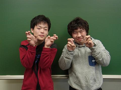 太田柊也さん(左)、森 瀬斗さん(右)